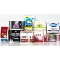 Buy cheap UV Resistant Self Adhesive PVC Labels / Sticker With Die Cut Printing from wholesalers