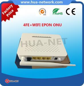 China FTTH 4FE+Wifi Epon Onu Long Range Wifi Equipment on sale