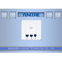 OpenWRT Support In Wall Wireless Access Point , Home In Wall AP With Phone Line Port Manufactures