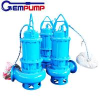 WQ Sewage Industrial submersible sump electric water centrifugal pump coal mine Manufactures