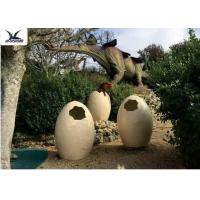 Animatronic Giant Dinosaur Eggs Models For Jurassic Park Decoration 5 Meters Manufactures