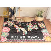 Anti Slip Rug Underlay  Short Plush Chinese Oriental Rugs , Modern Kitchen Rugs Washable Dry Quickly Manufactures