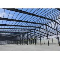 Mouldproof Steel Structure Construction Custom Design With Office / Steel Stairs Manufactures