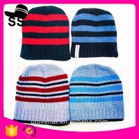 2017new style16*17cm Animal Beanies cap keep warm107gMan Monster Stripe Critter 100%Polyester  Winter Knitting hats Manufactures
