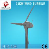 Buy cheap 30kw horizontal wind turbine generator from wholesalers