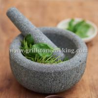 China Marble kitchen mixer mortar and pestle on sale