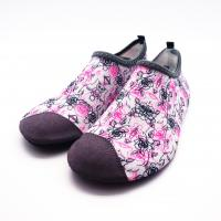 Buy cheap Lycra Ultra Light Non Slip Water Shoes With Bootstrap Causal Printing from wholesalers