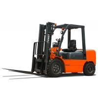 Adjustable Seat 4.5 Triple Mast Forklift , Warehouse Forklift Trucks 1 Year Warranty Manufactures