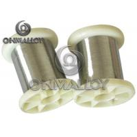 CrNi3070 Nickel Chromium Wire Bright Surface 730 Tensile Strength Manufactures