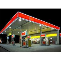 China AISI ASTM Steel Building Trusses Prefabricated Gas Station Structure on sale