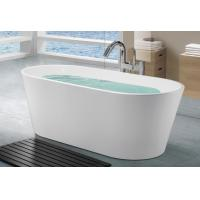 2 Person Free Standing Soaking Tubs For Small Spaces 1700x800x580mm Manufactures