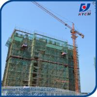 Cheap Tower Crain 8tons QTZ80 Types of Construction Cranes Tower 2.5m Mast for sale