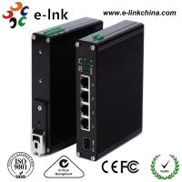 10 / 100M Industrial Ethernet POE Switch , 8 Port Power Over Ethernet Switch Manufactures