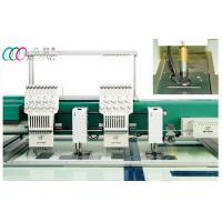 """double Head Compact Mixed Chenille Flat Computerized Embroidery Machine With 10""""LCD Manufactures"""