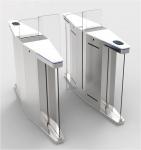 Elegant Optical Pedestrian Turnstile Barrier Gate High Speed SUS304 Material Manufactures