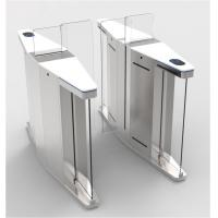 Buy cheap Elegant Optical Pedestrian Turnstile Barrier Gate High Speed SUS304 Material from wholesalers