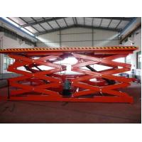 Cheap Dual Fork Elevating Work Hydraulic Scissor Lift Tables Hydraulic Lifting System for sale