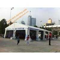 Outdoor Trade Show Tent  Hard Pressed Extruded Aluminum Structure Customized Sizes Tent