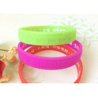 Embossed Logo Low Relief Buddhism Relief Solid Custom Silicone Wristbands
