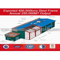 Economical Metal freight steel structure warehouse sheds with CE Standard Manufactures