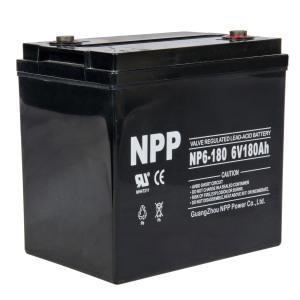 Lead Acid Battery 6V 180AH Manufactures