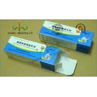 China Spot UV Coating Insulated Cardboard Packaging Boxes For Pharmaceutical / Medicine on sale