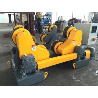 Buy cheap HGZ-10 Self Aligning Welding Rotator 10 Ton Capacity With Foot Pedal Control from wholesalers
