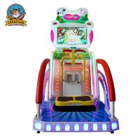 Buy cheap Kids Lottery Ticket Redemption Machine Happy Jump Racing Type Custom Logo from wholesalers