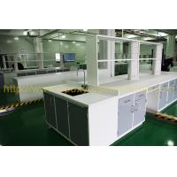 Resist strong alkalies laboratory work benches for food company Manufactures