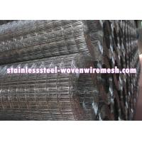 High Tensile Stainless Wire Mesh Sheet , ss Welded Wire Mesh 4x 4 Rust Resistant Manufactures