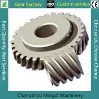 Bevel Gear Assembly Custom Bevel Gear Worm Gear Sets With C45 Materials Manufactures