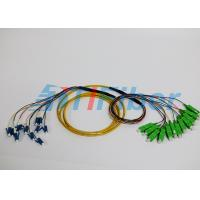 Buy cheap Custom multifiber breakout cable 2-144 Core Pre Terminated cable Strip on 0.9mm from wholesalers