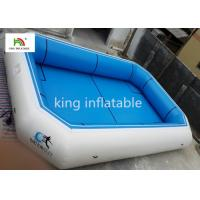 Blue Plato Material Portable Inflatable Swimming Pools CE EN14960 SGS Manufactures