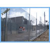 Garden Yard Security Wire Mesh Fence Panels Metal 3 Meter Height Anti Climb Fence Manufactures