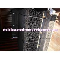 Buy cheap Black Plain Crimp Mining Screen In Roll / Sheet (Black Wire Mesh Screen) Long from wholesalers