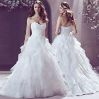 Plus size V-neck maternity wedding dress 2014 Red Lace-up Beaded Bride Ball Gown Free Shipping Manufactures