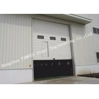 High Speed Industrial Garage Doors Lift Up Roller Shutter Door With Pedestrian Gate Manufactures