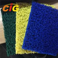 Looping Yarn Solid Color 100% PVC Flooring Carpet By Rolls / Pieces 11mm Thick Manufactures