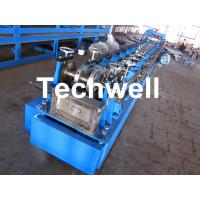 China Steel Structure C Shaped Purlin Roll Forming Machine for Making C Purlin Profile by Chain Drive on sale