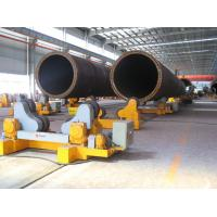 3T - 500T Tank Turning Rolls , Self-aligned Welding Rotator High Speed