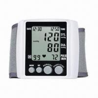 Wrist Blood Pressure Monitor with Accuracy of ±3mmHg and 0 to 300mmHg Range of Measurement Manufactures