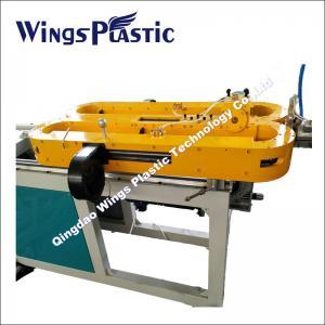 Corrugated Flexible Hose Making Machine , Plastic PE PP PVC Corrugated Pipe Extruder Manufactures