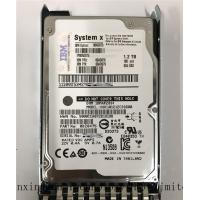 China IBM 1.2TB  10k Sas Drive  6Gbps 2.5 Hard Drives 00AD075 00AD076 00AD079 00AD077 on sale