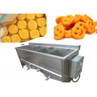 12kw Semi Automatic Potato Chips Making Machine With Double Baskets Manufactures
