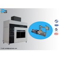 45 Degree Tilted Needle Flame Test Apparatus Fire Hazard Protection Testing Equipment IEC60695 Manufactures