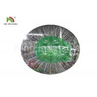 Durable Green 0.8mm PVC Outdoor Inflatable Bumper Ball For Adult Manufactures