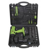 Portable Battery Charge Screwdriver Tools Kit Cordless Drill Sets with Metal Box Packaging Manufactures