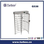 Card Reader 304 Stainless Steel Turnstiles , Electronic Turnstile Gates Manufactures