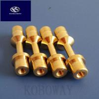 Custom Processing Metal Machining Parts Brass Cnc Turned Parts ISO9001 Approval Manufactures