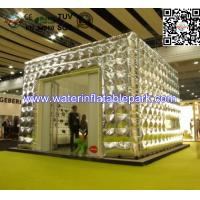 Gloden Inflatable Marquees Cube buildings Tent , 5 x 4 M Cube Tent Manufactures